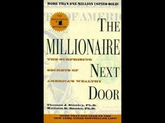The Millionaire Next Door by Thomas J Stanley (Complete Audiobook) - YouTube