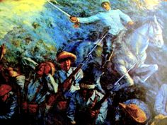 """The Battle of Tirad Pass, also referred to as the """"Philippine Thermopylae"""", was a battle in the Philippine-American War fought on December 2, 1899, in northern Luzon in the Philippines, in which  60 outgunned and outnumbered Filipino soldiers commanded by 24-year old Brigadier General Gregorio del Pilar succumbed to around 300-500 Americans of the 33rd Infantry Regiment, while delaying the American advance to ensure President Emilio Aguinaldo's escape from invading American forces. Emilio Aguinaldo, Philippine Army, Lest We Forget, American War, Philippines, Clip Art, History, Battle, Pictures"""