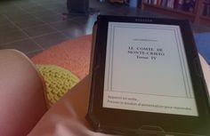"""""""Ma #VendrediLecture en cours depuis quelques temps : le comte de Monte-Cristo de Dumas - cc @Bookeen - #RehabilitonsLesClassiques"""" Gratuit pour votre Cybook sur Bookeenstore, merci le #domainepublic ! :) Cards Against Humanity, Thanks, Reading"""