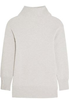 b0e7c2dacc1ad Iris and Ink Grace Light Grey Cashmere Turtleneck Sweater - Kate Middleton  Tops