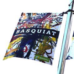 Cartel de la expo de Basquiat en el Museo Guggenheim Bilbao #Cartel #Affiche #Arterecord 2015 https://twitter.com/arterecord