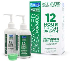 Good overall health starts with good oral health....make sure you're using the best product out there to take care of your mouth!  PLUS you get 12 Hour Fresh Breath as a bonus...No Morning Breath!