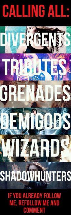 Divergents; Grenades