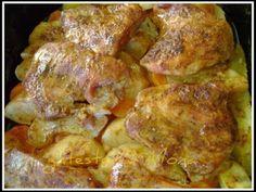 Rețetă Felul principal : Friptura de  porc cu mere  si chimen de Mona P