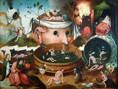 """Hieronymus Bosch """"Tondal's Vision """" Netherlandish Art Slide Hieronymus Bosch, Art And Illustration, Renaissance Kunst, Garden Of Earthly Delights, European Paintings, Canvas Prints, Art Prints, Art Graphique, Dark Ages"""