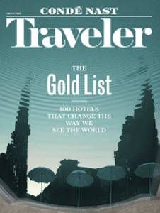travel california conde nasts gold list story