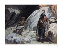David and Saul in the Cave James Tissot (1836-1902/French) Jewish Museum, New York Giclee Print by James Tissot at AllPosters.com