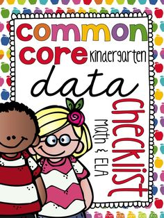 What the Teacher Wants!: Common Core Data Checklists! {Math and ELA}