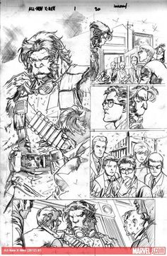 First Look At Stuart Immonen's Pencils From Brian Michael Bendis' ALL-NEW X-MEN #1