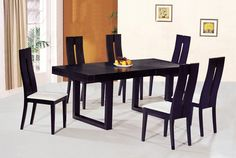 Dining Tables And Chairs Sets Simple With Image Of Dining Tables ...
