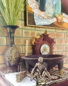2 of my treasures! Artworks, Clock, Random, School, Fun, Kids, Painting, Home Decor, Watch