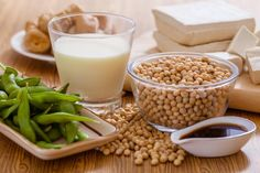 Consuming foods containing soy may protect women with PCOS from diabetes and heart disease.