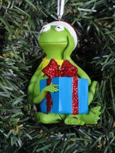 Disney Kermit Frog Muppets Xmas Ornament 2012 Holiday Present Gift NEW | eBay