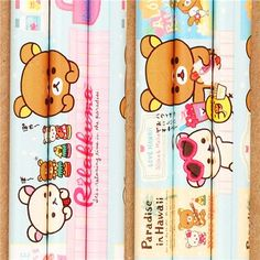 kawaii Aloha Rilakkuma bear Hawaii shop pencil Japan