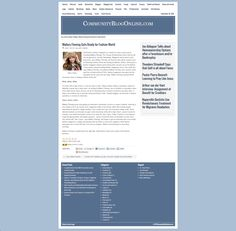 Mallory Fleming Community Blog Online