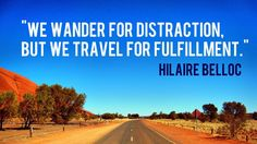 Travel quotes for hand-lettering project