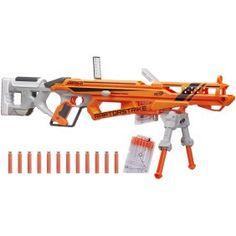 Nerf N-Strike Elite AccuStrike RaptorStrike Outdoor Toys Soft Dart Guns Toys R Us, Kids Toys, Nerf Snipers, Arma Nerf, Nerf Darts, Nerf Toys, Digital Light, Outdoor Toys, Firearms