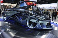 Self-Driving Chevrolet-FNR concept.