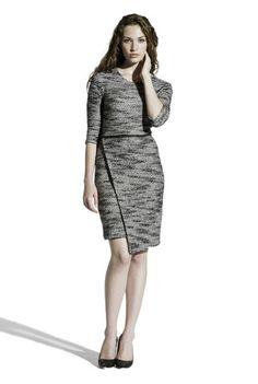 Dress to Impress | Michele in Black Pebble - Leota #madeinusa