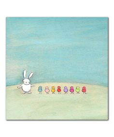 Love. :: Rainbow Peeps Print from Creative Thursday