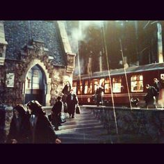 Concept art at Harry Potter Studios