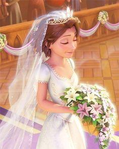 Disney Wedding: Rapunzel - AmazingAshley Vingle Disney - Disney wedding Tangled The Bride