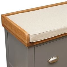 Sussex Grey Four Drawer Shoe Bench with Cushion - The Cotswold Company Shoe Storage Hall, Bench With Shoe Storage, Shoe Bench, Hallway Furniture, Florence, Drawers, Cushions, Living Room, Grey