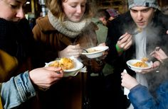 the Toronto Underground Market, a monthly food event that invites food aficionados, pop-up restaurant chefs, and at-home cookers to wow the masses with their delectable goodies Pop Up Restaurant, Cookers, Survival Guide, Chefs, Invites, Toronto, Goodies, Marketing, Vegetables