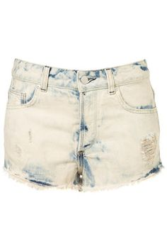 MOTO Bleach Splatter Hotpants