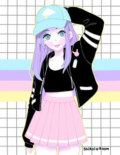 """pinkish-exe: """" http://shiroiroom.tumblr.stfi.re/ drew me and I love it so much! Please check her out she is very very talented. Thanks again, gorgeous. """" Thank you for sharing!! I'm happy you like it"""