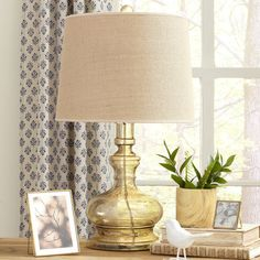 Birch Lane Lewiston Glass Table Lamp | Birch Lane