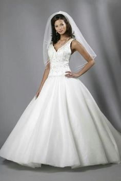 Dont Like The Top At All But I Am Liking Skirt That It Is So Full Not Fluffy Tulle And This Smoother Wedding Dresses