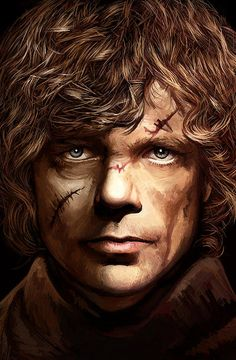 Tyrion Lannister - Peter Dinklage Game Of Thrones Artwork 2 Print By Sheraz A