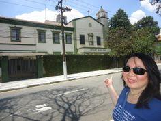 Voltamos à Avenida Nazaré, onde encontramos o Instituto Maria Imaculada, que hoje abriga o Colégio Maria Imaculada Dr. Piero Roversi. Construída na década de 1930, é outra instituição construída graças à iniciativa do Conde José Vicente de Azevedo.