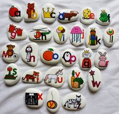 Story stones are a unique tool for encouraging and assisting the development of imaginative and creative play within children.  This beautifully handcrafted collection is a dynamic and exciting way for children to express their imaginative and creative thoughts whilst expanding their communication, language and literacy skills........the colourful hand drawn images will assist children to convey their thoughts and feelings whilst encouraging storytelling and building vocabulary.  Children…
