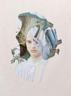 Surrealist Fashion Collages - These Anton Bundenko and Jenya Vyguzov Artworks Merge Two Mediums (GALLERY)  Plåta mitt kollage mot mitt marmormönstrade golv!!!!!!! (ev skrivbord)