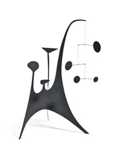 Stabile with Mobile Element By Alexander Calder ,Circa  1940