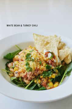 white bean & turkey chili - CAKIES