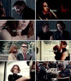 In all the world, there is no heart for me like yours. In all the world, there is no love for you like mine. #marvel