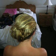 Updo#wedding#braid