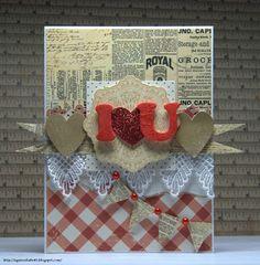 Crafty by AgnieszkaBe: Walentynki Valentines, Crafty, Cards, Blog, Valentine's Day Diy, Valantine Day, Valentine's Day, Maps