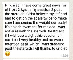 The key to success for anything is determination and sticking around.. we have just seen that in our client who is battling PCOS, High blood sugars and a nerve infection too. We are proud of you dear :) www.balancenutrition.in  1/3