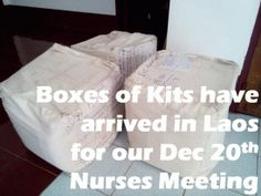 Plans for Nurses Meeting: December - CleanBirth - Saving Mothers and Babies in Laos Baby Shower Hostess Gifts, Baby Shower Favors, Pregnant Mom, Mother And Baby, Simple Gifts, Nurses, Laos, Holiday Cards, Gift Tags