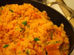 Mexican Rice Recipe - Ingredients and Preparation