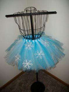 Snowflake Tutu/ winter wonderland party