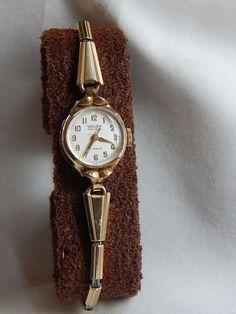Vintage Gruen Precision Analog 12-Hour Dial Mechanical: Hand-Winding Watch #GruenPrecision #Casual