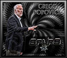 NBA Edit - Coach Gregg Popovitch
