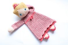 Ravelry: Princess Ragdoll crochet amigurumi pattern by A la Sascha Crochet Lovey, Crochet Patterns Amigurumi, Amigurumi Doll, Crochet Dolls, Knit Crochet, Tier Zoo, Diy Bebe, Dk Weight Yarn, Doll Patterns