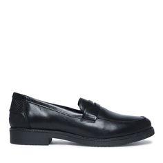 Penny loafers zwart