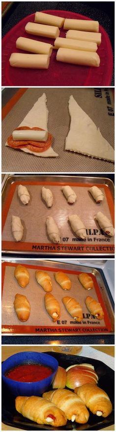 @mouse1465 how about these for the party? super easy. Crescent Pepperoni Roll-ups - Latest Food
